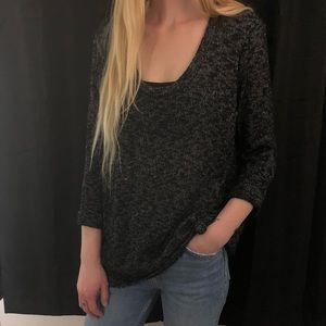 Women's Sparkle and Fade Knit Shirt